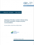 Adaptivity of the labour market in Ukraine during the COVID-19 pandemic: Analysis and policy recommendations